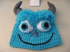 Crochet Blue Monster / Video One