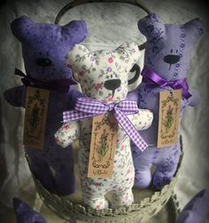 What Can You Do With Lots of Lavender? ... massage oil, lavender flowers candle, lavender syrup, lavender sugar, lavender bath balls, lavender eye mask, lavender fragrance pillow, lavender sachet, dried lavender wreaths, and these, lavender sleeping bears. Great site! Lots of ideas.