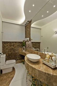 Bathroom by Arquiteto Aquiles Nícolas Kílaris Washroom Design, Toilet Design, Bathroom Design Small, Modern Bathroom, Master Bathroom, Simple Bathroom, Bad Wand, Bathroom Renovations, Bathrooms