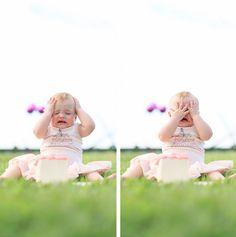 feather + light photography   philadelphia, pa child photographer   cake smash   crying cake smash