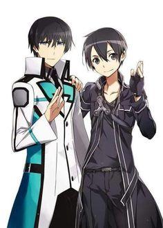 Onii-sama and kirito xd
