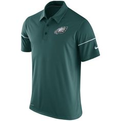8f3e3027ac1949 Men s Philadelphia Eagles Nike Midnight Green Team Issue Dri-FIT Polo