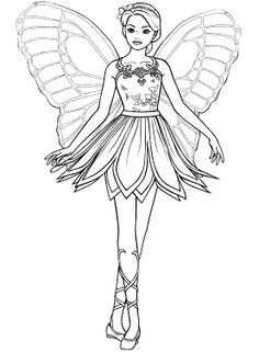 Queen Of The Fairy Coloring Pages | Fairies | Pinterest ...