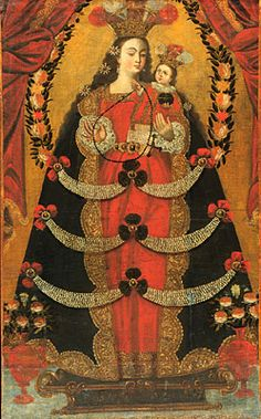 Unknown, Peruvian, Cuzco School  Our Lady of Pomata  18th century    The Hood Museum of Art