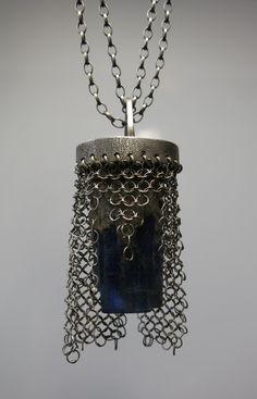 Czapka Niewidka #polandhandmade #kianit #biżuteria artystyczna