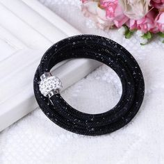 Special Promotion FREE NEW Fashionable Jewelry Handmade Crystal Rhinestone Bracelet