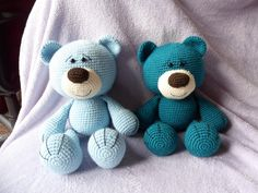 Guardian bears (Pattern by Esbelotta)