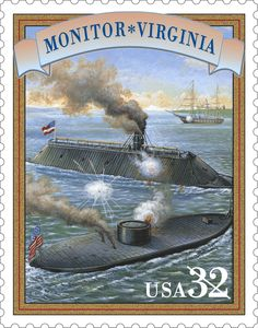 Dec. 30, 1862: #USSMonitor sank in a storm off #CapeHatteras, #NorthCarolina. Nine months earlier, the ship had been part of a revolution in naval warfare when the ironclad dueled to a standstill with the C.S.S. Virginia (Merrimack) off Hampton Roads, Virginia,