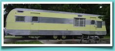 The owners of this fine trailer have kept the colors the same as the one in the movie, FANTASTIC!