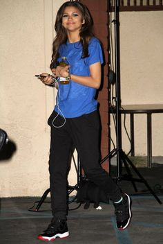 """Zendaya Leaving """"DWTS"""" April 16, 2013"""