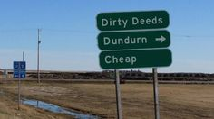 These additional signs with additional information about Dundurn, Saskatchewan. | 16 Real Public Signs That Prove Canadians Are Funny Eh Eff