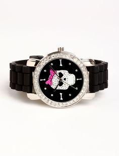 ♥skull watch
