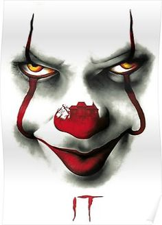 I'm Pennywise,the dancing Clown ! Le Joker Batman, Joker Art, Scary Wallpaper, Halloween Wallpaper, Hd Wallpaper, Scary Movies, Horror Movies, Penny Wise Clown, Film Mythique