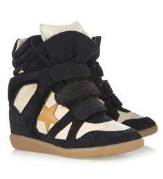Dolgu topuklu spor ayakkabı trendi