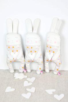 bunnies softies dolls by PinkNounou
