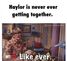 Ok so a resolution of mine is to be more understanding about Haylor...but this is to good not to pin!