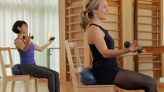 Lunch Break Arms Core & Seat: Able to do this one with no modifications!  Great shoulder & arm workout.  10 min @barre3