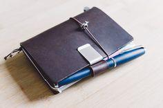 Midori Travelers Notebook Passport Size mit Field Notes