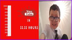 How to get 1000 SUBSCRIBERS In 33.33 HOURS [PROOF]
