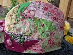 Honey Bee's Bliss: Tea in the Rose Garden Crazy Quilt Tea Cozy