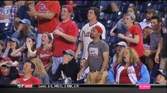 Emotion: Disappointment.  Phillies Fans' Reactions To Dan Uggla's Grand Slam Are Amazing