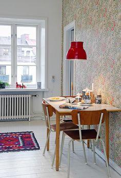 Um apartamento escandinavo