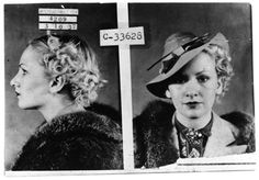 [Mug Shot of Unidentified Woman In Fur], Photograph, n.d. University of North Texas Libraries, The Portal to Texas History; crediting Dallas Municipal Archives , Dallas, Texas.