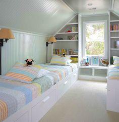 15 quartos de criança com mais de uma cama para você se inspirar - limaonagua                                                                                                                                                                                 Mais