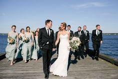 Eddie & Hilary // Married Photo By Tiffany Axtmann Photography