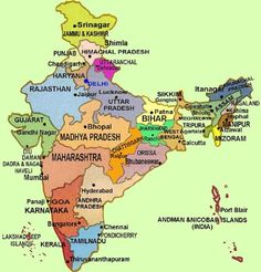 India : Political Map