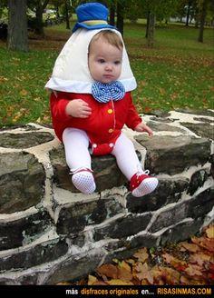 Disfraces originales: Humpty Dumpty.