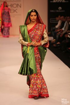 Gaurang Shah Patan Patola Saree Collection at Lakme Fashion Week
