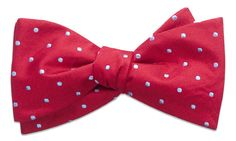 Bennington Red Self-Tie Bow Tie