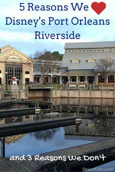 5 Reasons We Disney's Port Orleans Riverside  http://destinationsinflorida.com/pinterest