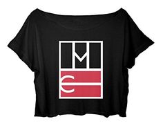 ASA Women's Crop Top Magcon Boys Shirt Tour Logo Magcon Boys Tshirt (Black) ASA http://www.amazon.com/dp/B014BYBYYQ/ref=cm_sw_r_pi_dp_FSnUwb1B4D1QZ