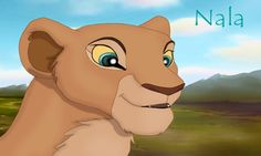 Nala! My second favorite Lion King Character. My favorite Lion King Character is Kiara! Kiara is Simba's daughter. Kiara is on Lion King 2: Simba's Pride