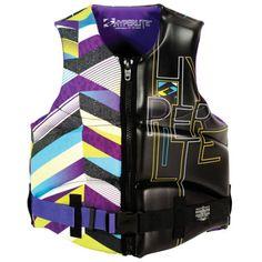 Overton's : Hyperlite Womens Stiletto Comp Vest - Watersports > Wakeboarding Accessories > Wake Vests > Ladies' Wake Vests :