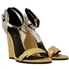 Bottega Veneta Silver & Skin Wedges    http://www.consignofthetimes.com/product_details.asp?galleryid=6549