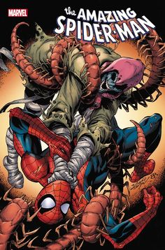 The Amazing Spider-Man vol 5 #73 | Cover art by Mark Bagley, John Dell & Brian Reber Spider Man Comics, Comic Books Art, Book Art, Spider Man 2018, May Parker, Usagi Yojimbo, Mark Bagley, What Is Trending Now, Top 5