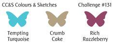 CAS Colours & Sketches: Challenge #131 Colors 7/9