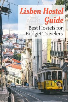 Lisbon is chocked full of incredibly nice and cool hostels. So deciding which one to stay at can take some work. But don't worry, we've done the research for you. Click here to find out what the best hostels for budget travelers are in Lisbon, Portugal.