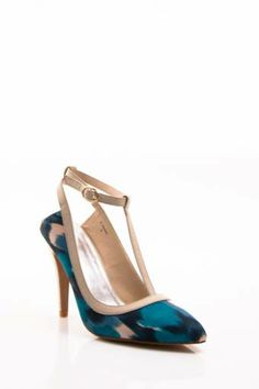 NVY Dame Pump available in Turquoise, Ivory, Black, and Black X. Get it now at www.tcfootwearcorp.com