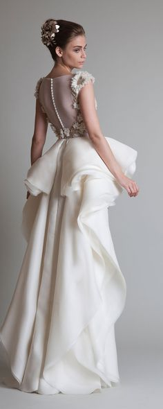 "Krikor Jabotian ""Closure"", A-H 2013-2014 - Haute couture - http://fr.orientpalms.com/krikor-jabotian-4063"