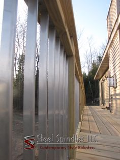 We have come up with the 10 best benefits of stainless steel balusters. There are many benefits but these are the ones we like best. Deck Balusters, Steel Deck, Stainless Steel, Home Decor, Courtyards, Decoration Home, Room Decor, Interior Design, Home Interiors