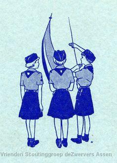 Niederländische Pfadfinderinnen ---- Dutch girlscouts ----- Betsy Boerema
