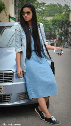 #Bohemian #Chic #denim #outfit #fringe #bag #zara