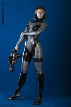 Anatomic Latex's EDI cosplay from Mass Effect...whoa, just...whoa! (via andromeda latex)