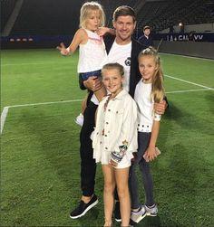 Alex Gerrard hides any sign of baby bump as she rocks tiny denim shorts Alex Gerrard, Steven Gerrard, Gerrard Liverpool, Stevie G, Captain Fantastic, Family Photos, Couple Photos, Baby Bumps, Denim Shorts