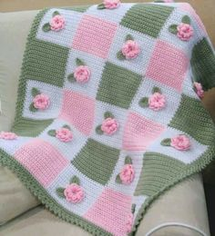 Bebek battaniyesi böyle olur...