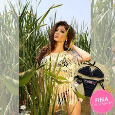 A linda Grace Lopes usando look Serafina para ensaio fotografico ☀ Ótima produção!